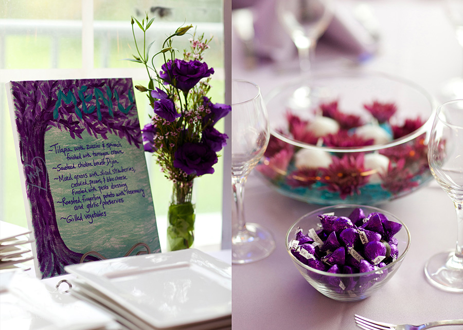 Teal Countryside Wedding - Real Wedding Pictures